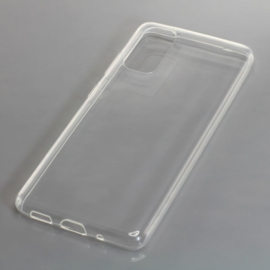 "TPU telefoonhoesje Samsung Galaxy S20 (SM-G980... 6.1"") - Transparant"