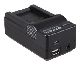 Patona oplader accu batterij Canon NB-7L + USB