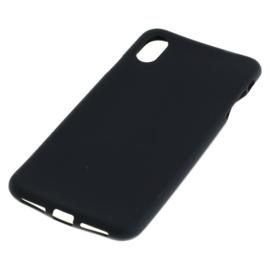 OTB TPU Case voor Apple iPhone XS Max  - Zwart