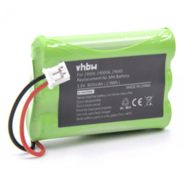 VHBW  Accu Batterij 29030 Summer Infant - 800mAh 3.6V