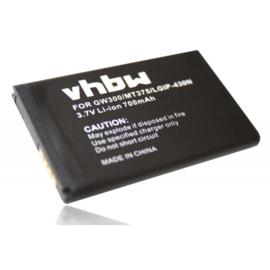 Accu Batterij LG GW300 e.a. IP-430N EAC62378407 - 700mAh 3.7 V