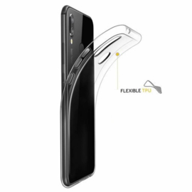 TPU Case voor de Samsung Galaxy A20e SM-A202 - Transparant