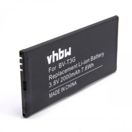 VHBW Accu Batterij Microsoft Nokia BV-T3G Lumia 650 RM-1154
