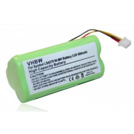 VHBW Accu Batterij Barcodescanner Symbol LS4278 LS4278-M