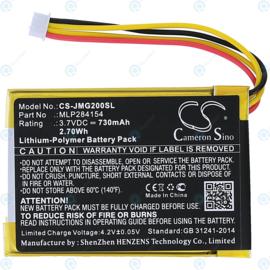 Accu Batterij JBL Go 2 / JBL Go 2H - MLP284154 CS-JMG200SL - 730mAh