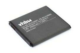 VHBW Accu Batterij Samsung Galaxy Core Prime - 2000mAh