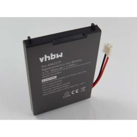 VHBW Accu Batterij BPCK1500LI - 900mAh 3.7V