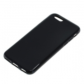 TPU Case Hoesje Cover Apple iPhone 6 - Zwart
