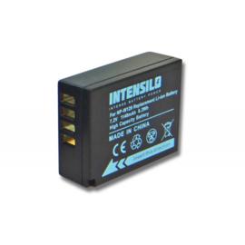 Intensilo Accu Batterij Fuji NP-W126S NP-W126 - 1140mAh Premium