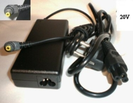 Adapter Fujitsu Siemens Amilo Serie - 20V 3,25A 65W - 5,5 x 2,5mm