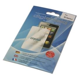 Display folie screenprotector voor Sony Ericsson Xperia U