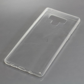 OTB TPU Case voor de Samsung Galaxy Note 9 - vol transparant