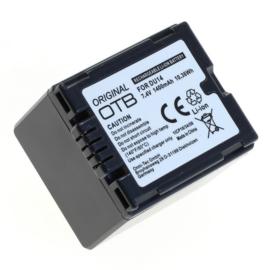 Original OTB Accu Batterij Panasonic CGA-DU14 - 1400mAh