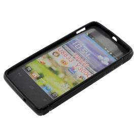 OTB TPU Case Huawei Ascend Y300 U8833 T8833 - Zwart OP=OP