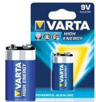 Varta Batterij High Energy 9V 6LR61 E-Block 6LP3146