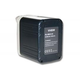 VHBW 24V Accu Batterij Makita BH2430 e.a - 1500mAh Ni-MH