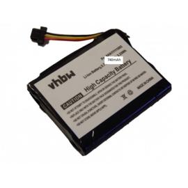VHBW Accu Batterij TomTom VFA - 740mAh