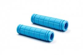 2x Handvat Kinderfiets 115mm lang 23mm diameter - Lichtblauw