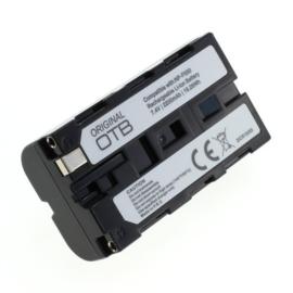 Original OTB Accu Batterij Sony NP-F550 e.a. - 2200mAh