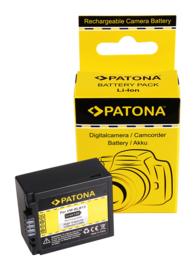 Patona Accu Batterij Panasonic DMW-BLB13 / DMW-BLB13E - 1250mAh