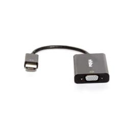 Adapter van HDMI A (m) naar VGA (f) met audio en stroom