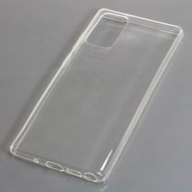 OTB TPU Case voor Samsung Galaxy Note 20 SM-N980 - Transparant