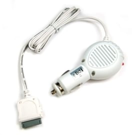 Autolader Apple iPod / iPhone / iPad 2A snellader wit (8003501)