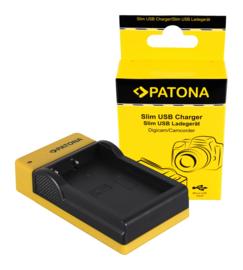Compact Patona oplader v. accu EN-EL9 EN-EL9A Charger