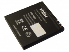 VHBW Accu Batterij Nokia BL-5K - 1200mAh 3.7V