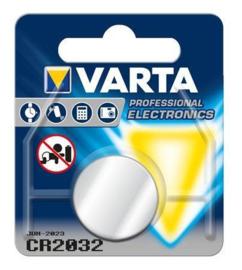 Varta CR2032 Knoopcel 6032 Lithium 230mAh 3V