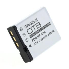 Originele OTB Accu Batterij Casio NP-130 - 1500mAh