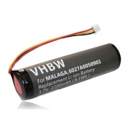 VHBW Accu Batterij TomTom Urban Rider Pro e.a. - 3.7V 2200mAh
