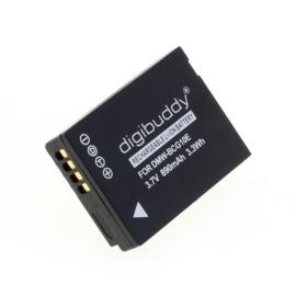 Digibuddy Accu Batterij Leica V-Lux 40 - 890mAh