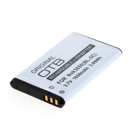 Original OTB Accu Batterij voor Fysic FM-9000 - 1050mAh