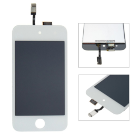 LCD + Touchscreen voor Apple IPod Touch 4 - Wit