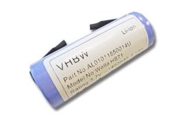 Accu Batterij Tondeuse Wella Xpert 1/UR18500L - 1400mAh