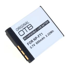 Original OTB Accu Batterij Sony NP-FT1 - 600mAh