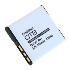 Original OTB Accu Batterij Sony NP-BN1 NP-BN - 600mAh 3.7V