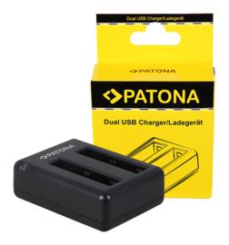 Patona USB Dual Quick Charger voor Accu AZ13-1