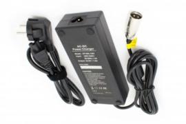 E-Bike Oplader 48V 3 pins XLR Pedelec 54.6V 1.8A 100WXLR