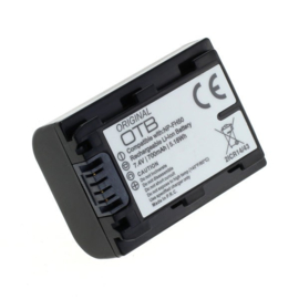 Original OTB Accu Batterij Sony NP-FP50 NP-FH50 e.a. - 700mAh