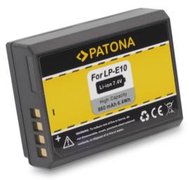 Patona Accu Batterij Canon LP-E10 - 860mAh
