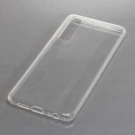 OTB TPU Case voor Huawei P30  - Vol Transparant