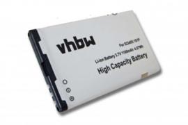 VHBW Accu Batterij Bea Fon S200 / S210 - 523455 1S1P  - 1100mAh