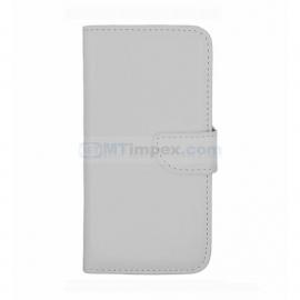 Stylish Bookstyle hoesje Huawei Case Ascend Y360 - Wit