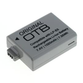 Originele OTB Accu Batterij Canon LP-E5 - 1020mAh