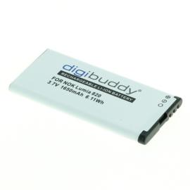 Accu Batterij Nokia Lumia 820 / Nokia Lumia 825 - BP-5T 1650mAh