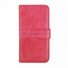 Bookstyle Case hoesje Sony Xperia M4 - Roze