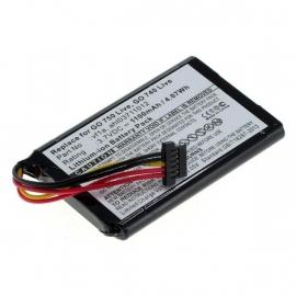 Accu Batterij TomTom GO 750 e.a. VF1A - 1100mAh