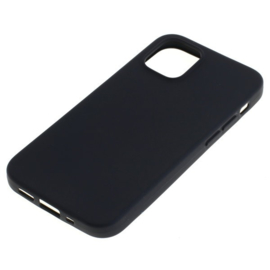 "OTB TPU Case Apple iPhone 12 Mini 5.4"" - Zwart"